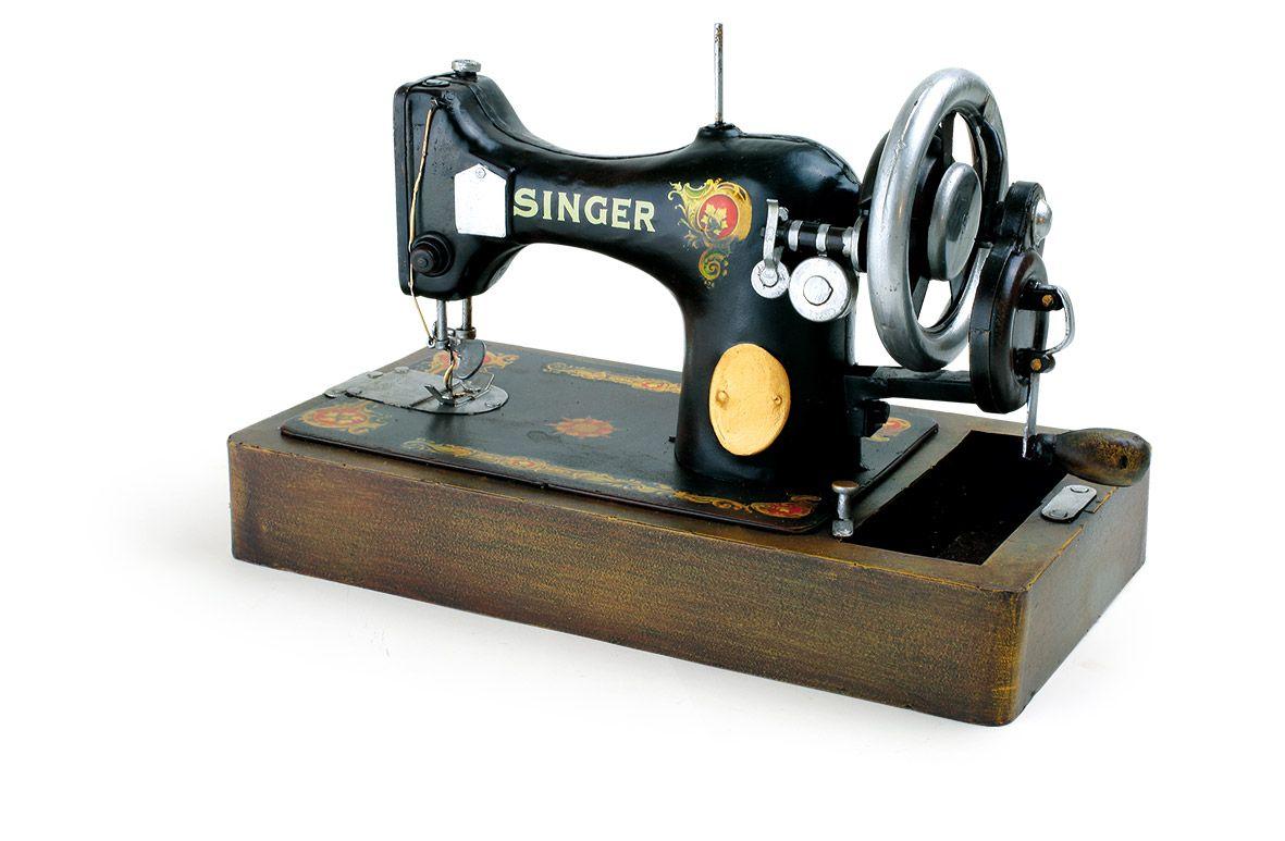 Singer Nhmaschine Vintage Deko Old But Gold Die Retro