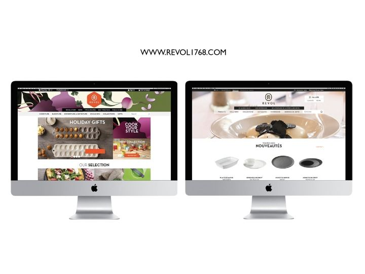 Revol Porcelain identity by Generous » Retail Design Blog