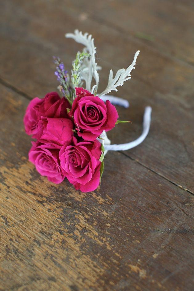 How To Make A Floral Bracelet Wrist Corsage