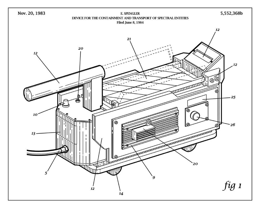 Image Of Containment Ghostbusters Ghost Trap Patent