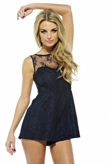 88ab5e034bd9 Lace Playsuit