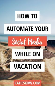 Learn how to spend MORE TIME RELAXING and less time on social media while you enjoy your vacation. I've been a social media manager for nearly a decade and have always managed to keep up with my own accounts and client accounts while on vacation or enjoying holidays.