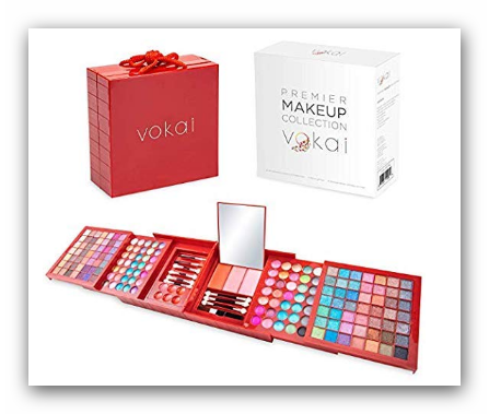best Vokai Makeup Kit Gift Set 168 Eye Shadow Colors, 6