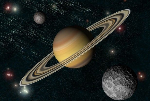 Real Pictures of Saturn From Space | Cassini Flying High ...