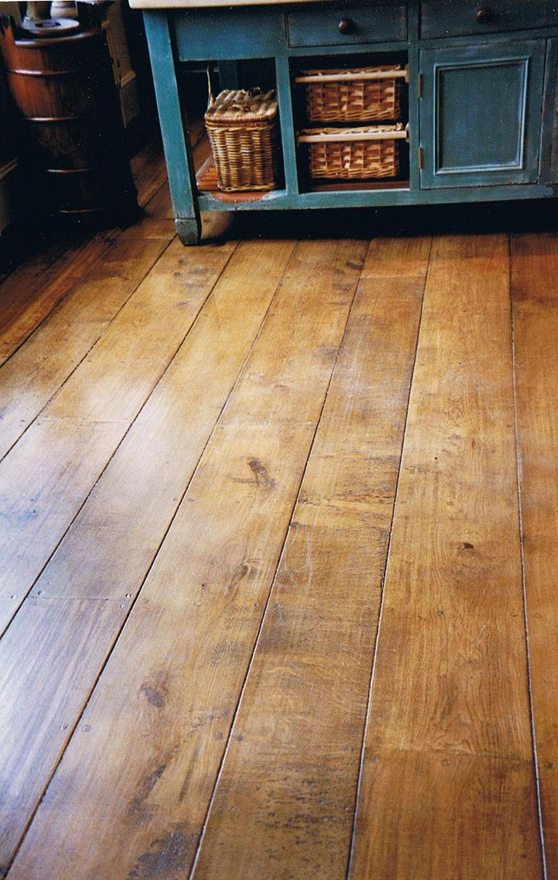 OAK PLANK FLOOR No.14 The West Sussex Antique Timber