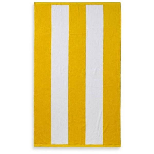 Bed Bath And Beyond Beach Towels Wamsutta® Resort Stripe Beach Towel  Bed Bath & Beyond ❤ Liked On