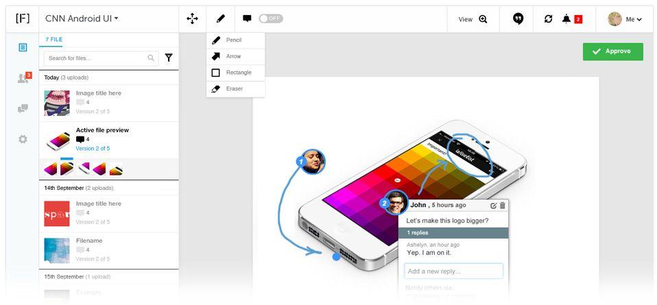 design feedback tool