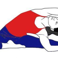 parivrttajanusirsasanarevolved headtokneepose  yoga