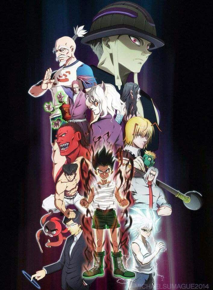 HxH Chimera Ants Personagens de anime, Anime, Wallpaper