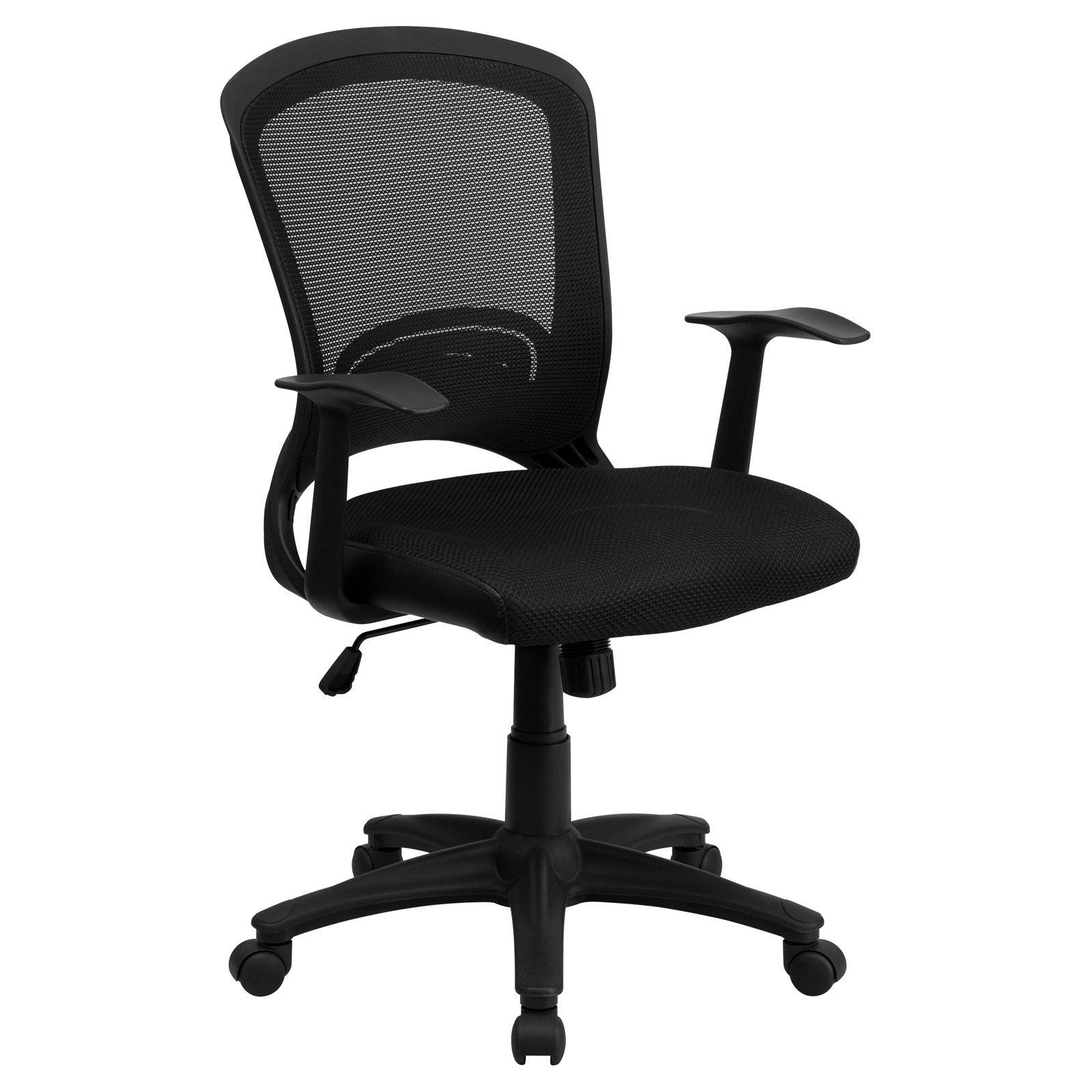 Flash furniture midback mesh swivel task chair with mesh padded