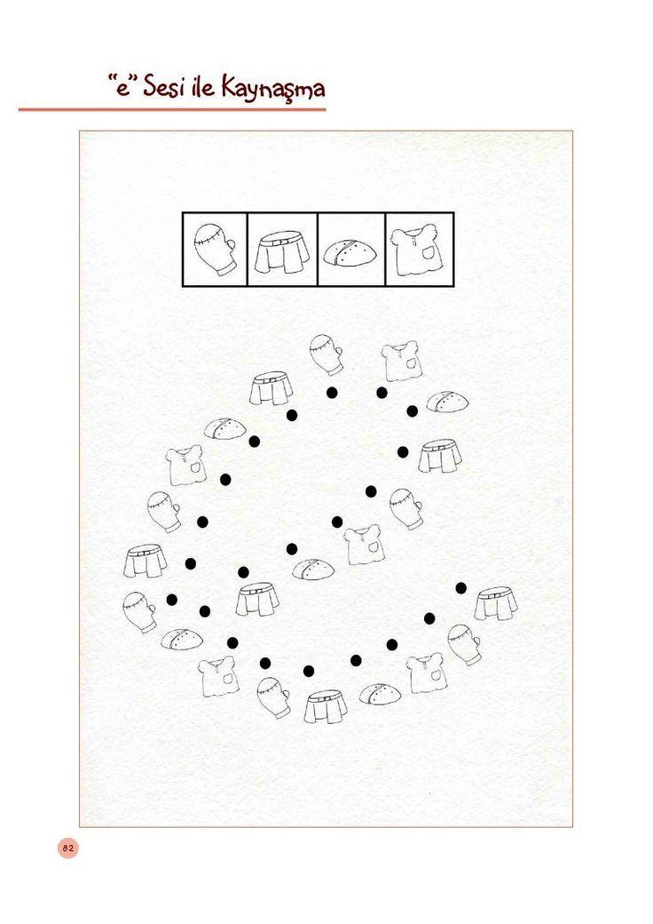 Okul Bahçesi E Sesi Ilk Okuma Yazma Pre Writing Ve Alphabet