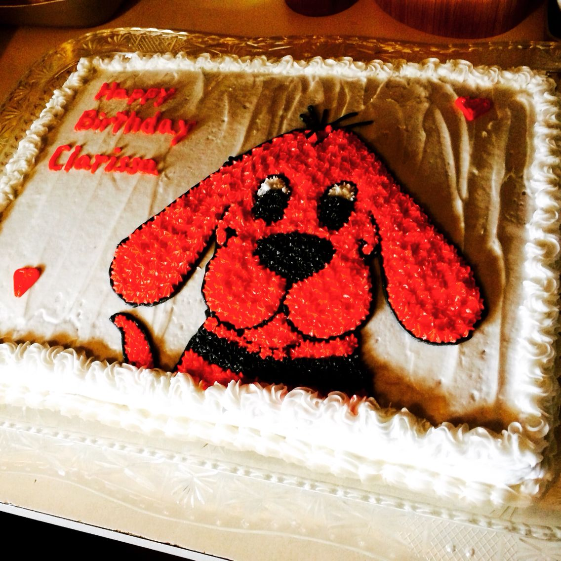 Clifford Cake Clifford The Big Red Dog Party Pinterest Cake