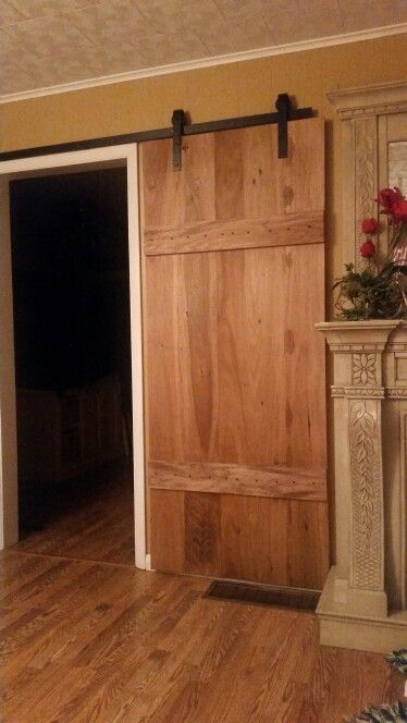 My barn door poplar wood with Minwax Early American stain & My barn door poplar wood with Minwax Early American stain | Aging ...