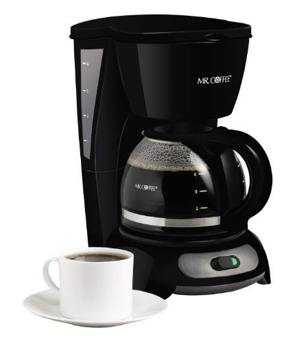 Mr Coffee 4 Cup Switch Coffeemaker Black Tf5 Small Coffee Maker Mr Coffee Maker Mr Coffee