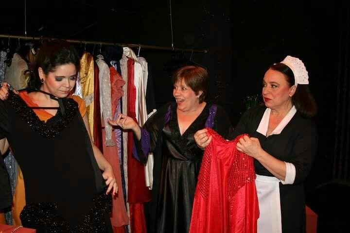 As Criadas  de Gean Genet  com Vanice Pedrazzini.  Monalisa Capella e Beth Lima