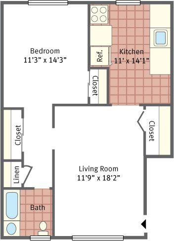Shrewsbury Arms Apartments Eatontown Nj 07724 732 542 5672 Altman Management Company House Plans Apartment Floor Plans