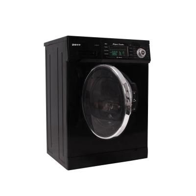 Deco 13 Lbs Washer And Electric Dryer In Black Dc 4000 Cv Black The Home Depot Electric Dryers Washer Dryer Combo Garage Laundry Rooms