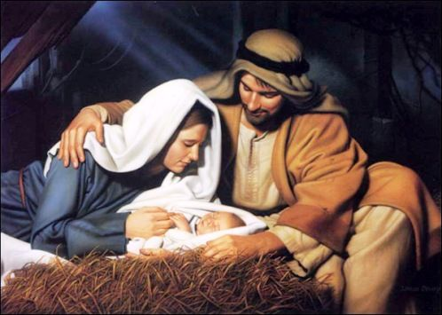 Image result for picture of Jesus in manger
