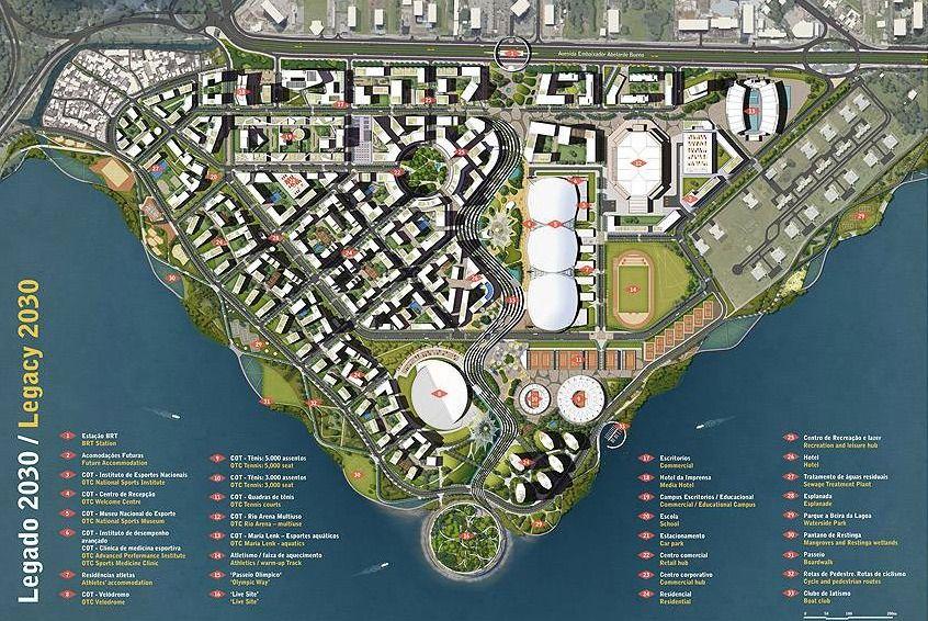 Galería de Resultado del Concurso Internacional: Plan General Urbanístico Parque Olímpico Rio- 5 - 5
