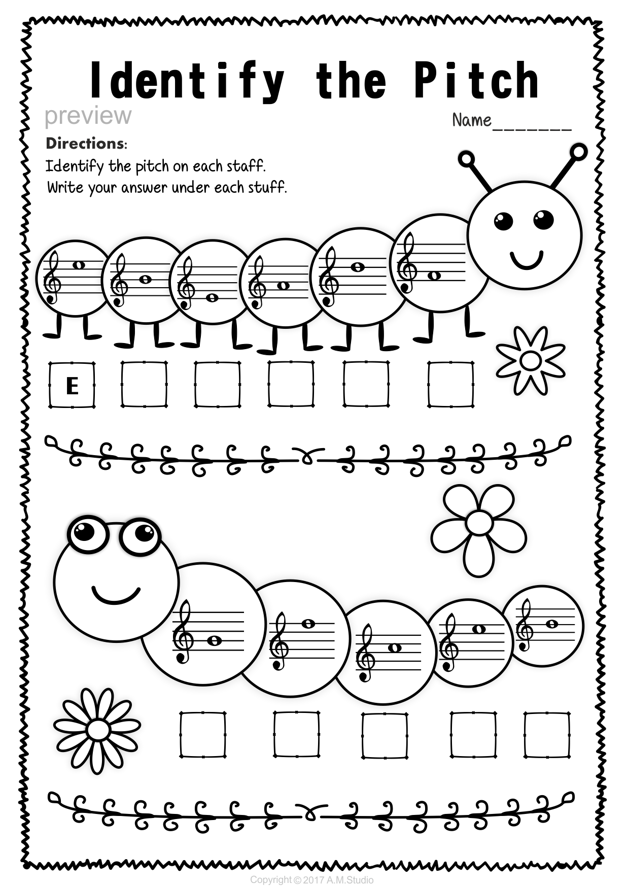 Pin By Carlo Cadiz On Music Worksheets