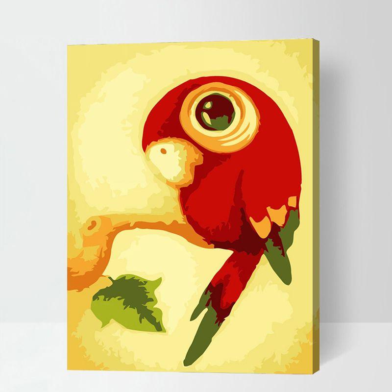 Malen Nach Zahlen Papagei Malennachzahlen Malennachzahlentiere Malen Nach Zahlen Kinder Malen Nach Zahlen Idee Farbe