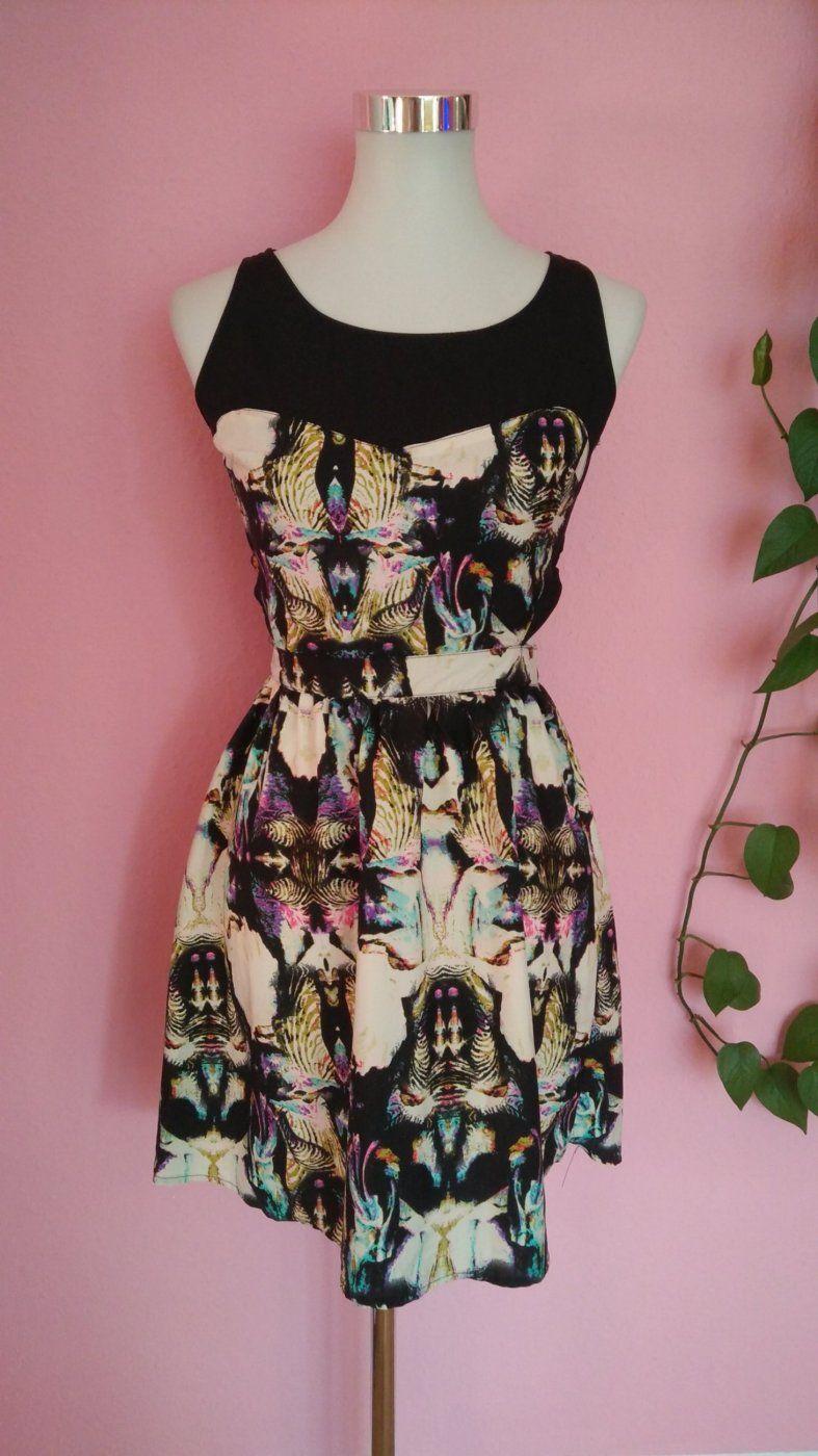 *Letzter Preis* Buntes Kleid mit Sidecuts (Box 4) | Mädchenflohmarkt
