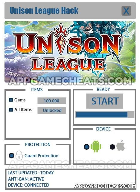 Unison League Hack for Gems & All Items Unlock [UPDATED