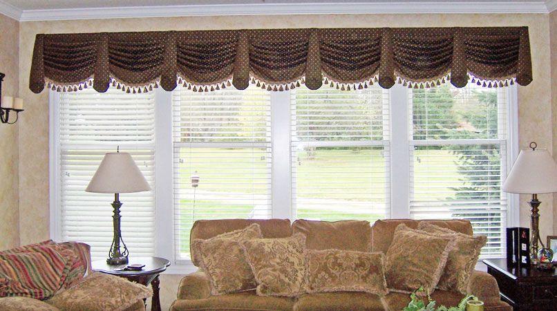 Window Treatments For Large Windows Custom Window Treatments Living Room Valances Valances For Living Room Curtains Living Room