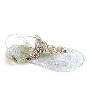 Look at this #zulilyfind! Silver Viver Sandal #zulilyfinds #  12.99