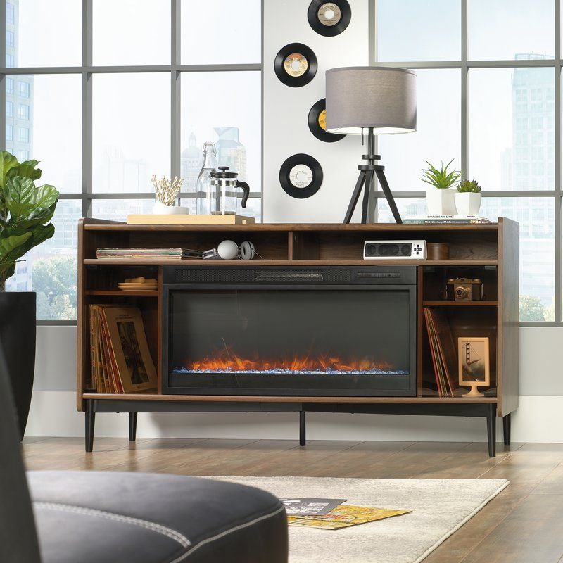 Gutierrez Tv Stand For Tvs Up To 70 With Fireplace Included
