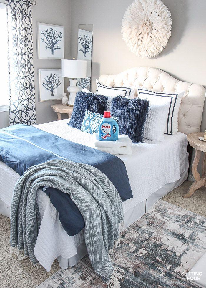 86 Best Guest Bedroom Ideas For You Guestbedroomideas Bestguestbedroom Solnet Sy Com Vintage Bedroom Decor Rustic Master Bedroom Farmhouse Bedroom Decor