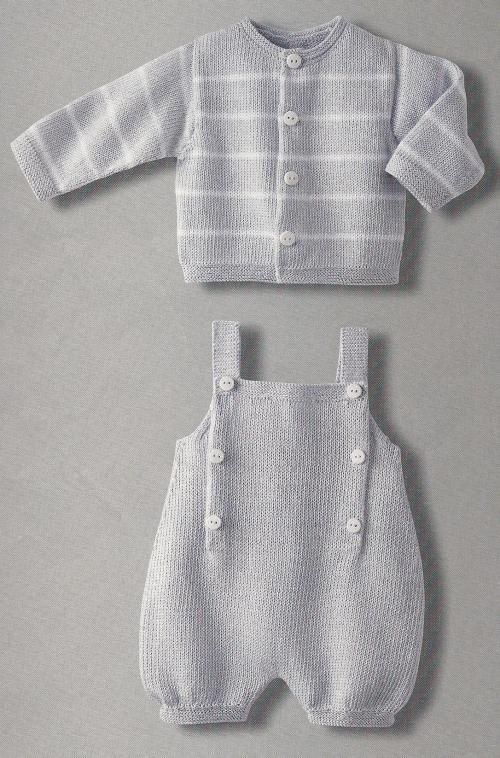 ec5c026ae3e9 Adorable knitted cardigan and overalls - I wish the English ...