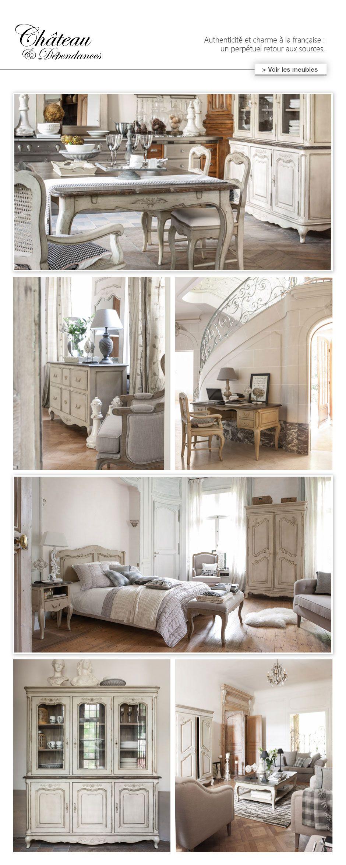Collection Château Dépendances Salons Shabby And French Style - Salle a manger louis xv pour idees de deco de cuisine