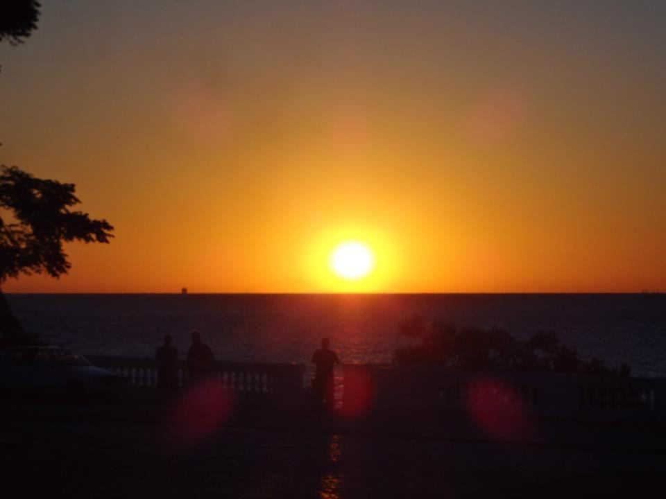 Sunset at Colonia del Sacramento (Uruguay, 2013)