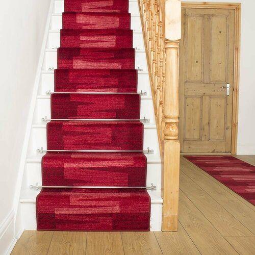 Innen-/Außenteppich Benedick in Rot Ebern Designs Teppichgröße: Läufer 80 x 540 cm