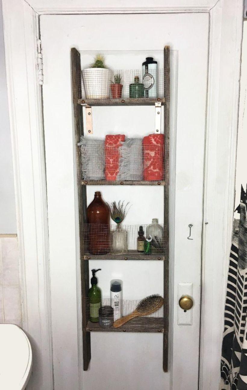 53 Creative DIY Rustic Bathroom Storage Ideas | Genial idea ...