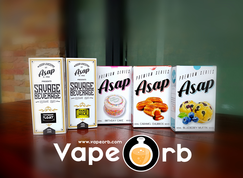 ASAP Juice @ VapeOrb Malaysia Online Vape E Juice & E Liquid Store