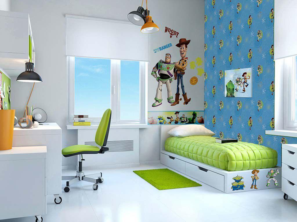 Bellas habitaciones temáticas de Toy Story  Idée chambre enfant