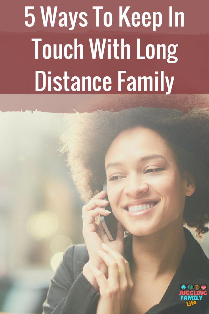 Staying Connected with the Kids from Long Distance