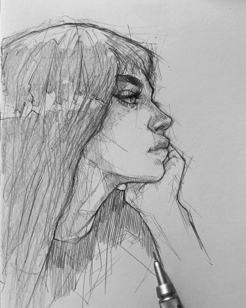 Pencil Sketch Artist Efrain Malo Sketches Pencil Sketch Art