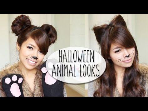 CARNAVAL DIY Halloween Costume Ideas Bear  Cat Ears Hairstyle - cute cat halloween costume ideas