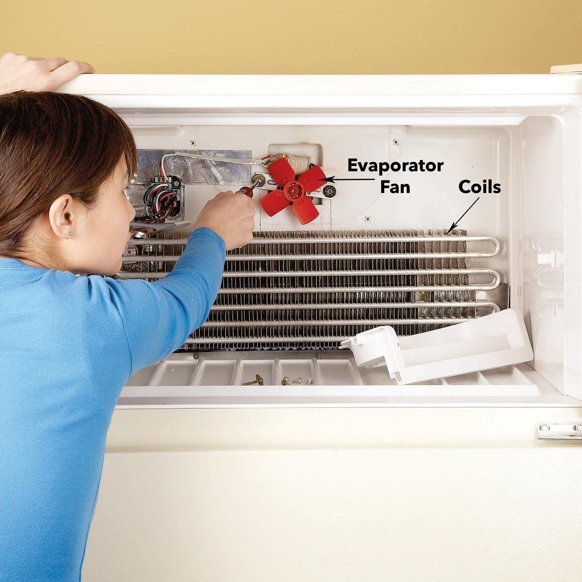 الاعطال الشائعه في ثلاجات ايديال والاسباب وطرق الاصلاح Freezer