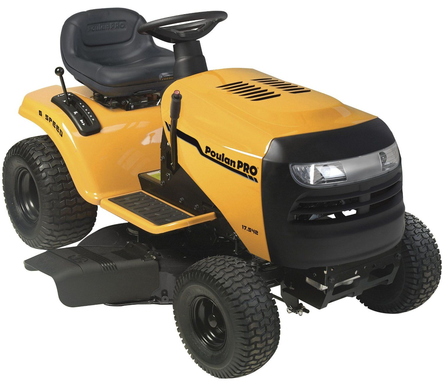 Poulan Pro Pb17542lt 17 5 Hp 6 Sd Lawn Tractor 42 Inch