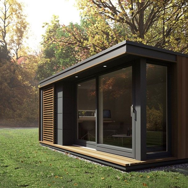 From A Small Home Office Or Self-contained Living Annex To