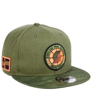 low priced 41978 047d3 New Era Portland Trail Blazers Tip Off 9FIFTY Snapback Cap - Green  Adjustable