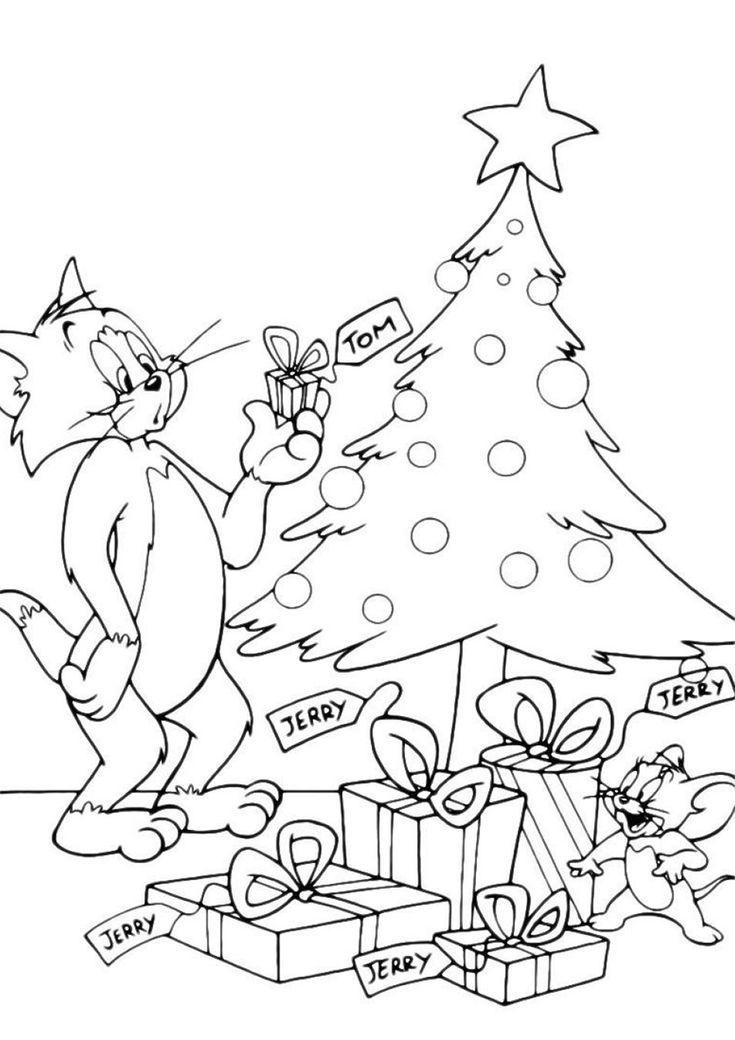 weihnachtsgeschenke - hochwertige kostenlose färbung aus
