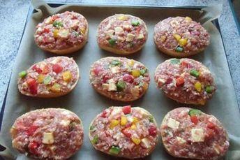 Photo of ❤ Hackfleisch – Pizzabrötchen ❤ – Rezept