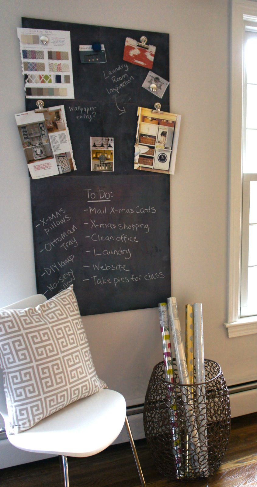 Home With Baxter Diy Chalkboard Paint Diy Projects Tutorials Home Diy