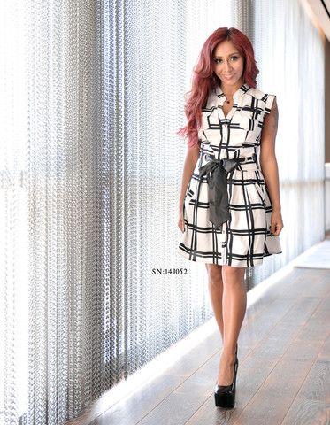 586340ba62c The Snooki Shop - Snooki by Nicole Polizzi Women's Dress (SN:14J052 ...