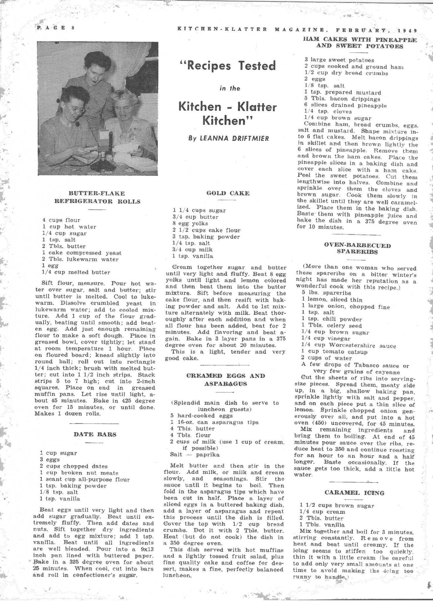 Kitchen Klatter Magazine February